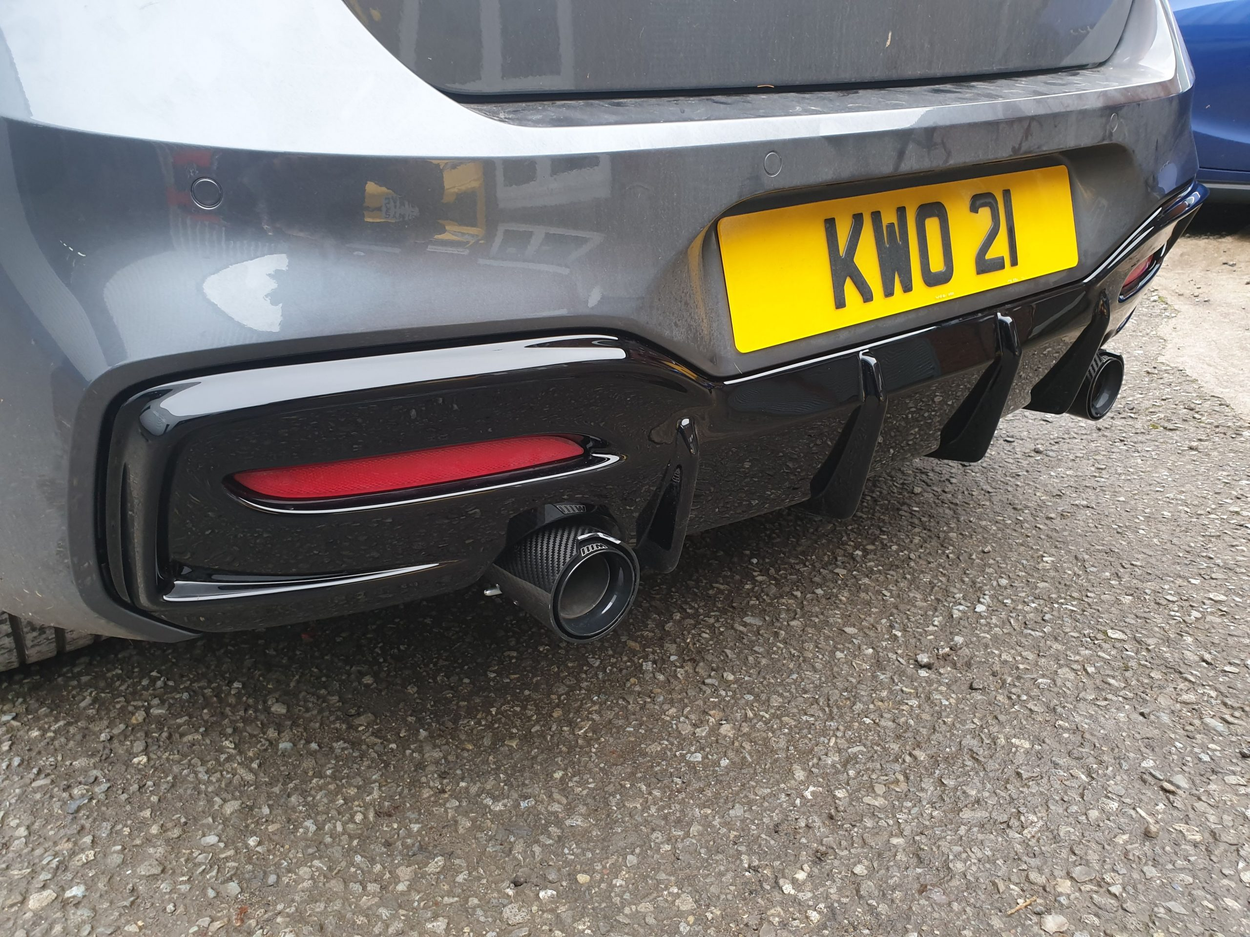 Tailpipe Fitted